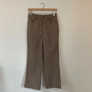 No.6 Tuesday Jean in Oxford Plaid, Size 26/27